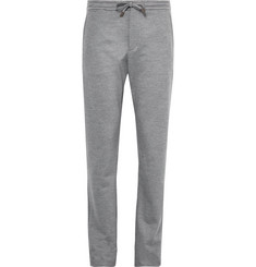 Ermenegildo Zegna Slim-Fit Wool-Jersey Drawstring Trousers
