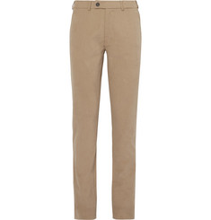 Private White V.C. Slim-Fit Brushed Cotton-Twill Chinos