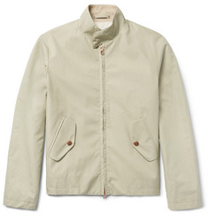 Private White V.C. Cotton Ventile Ripstop Harrington Jacket