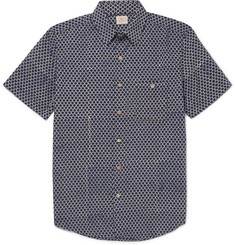 Faherty - Coast Printed Cotton Shirt