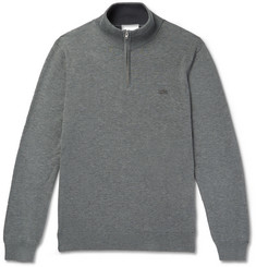 Lacoste Cotton-Jersey Half-Zip Sweatshirt