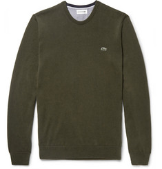 Lacoste - Slim-Fit Cotton Sweater