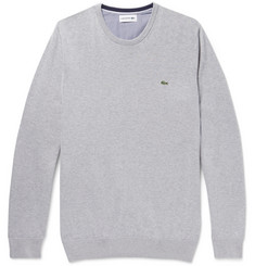 Lacoste Slim-Fit Cotton Sweater