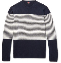 MP Massimo Piombo Striped Wool Sweater