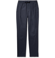 Tomas Maier Riviera Slim-Fit Cotton Drawstring Trousers