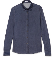 Tomas Maier - Slim-Fit Cotton-Chambray Shirt