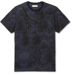 Etro - Slim-Fit Printed Cotton-Jersey T-Shirt