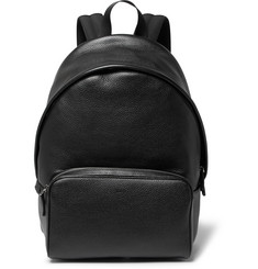Tod's Zaino Full-Grain Leather Backpack