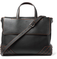 Tod's - Gommini Full-Grain Leather Tote Bag