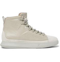 Under Armour Sportswear Club Mid Suede and Leather Sneakers