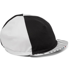 Cafe du Cycliste Printed Twill Cycling Cap