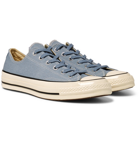 Billede af 1970s Chuck Taylor All Star Canvas Sneakers - Blue