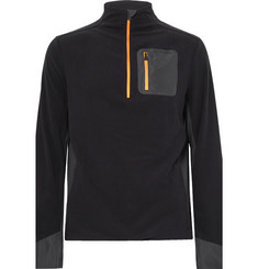 Aztech Mountain Jackpot Panelled Fleece Half-Zip Sweater
