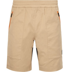 Aztech Mountain Lost Man Stretch-Canvas Shorts