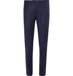 Thom Sweeney Slim-Fit Wool and Cashmere-Blend Felt Trousers