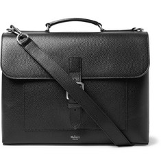 Mulberry - Chiltern Pebble-Grain Leather Briefcase