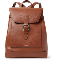 Mulberry Chiltern Pebble-Grain Leather Backpack