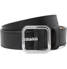 Mulberry 3cm Black Full-Grain Leather Belt