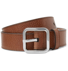 Mulberry 3cm Brown Full-Grain Leather Belt