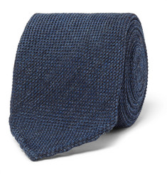 Thom Sweeney 8cm Woven Wool and Silk-Blend Tie