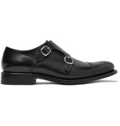 O'Keeffe Bristol Weatherproof Leather Monk-Strap Shoes