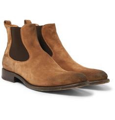 O'Keeffe - Bristol Oiled-Suede Chelsea Boots