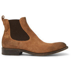 O'Keeffe Bristol Oiled-Suede Chelsea Boots