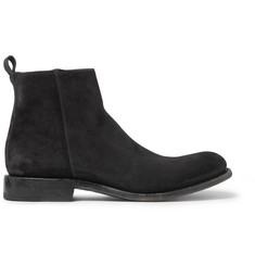 O'Keeffe Washed-Suede Boots