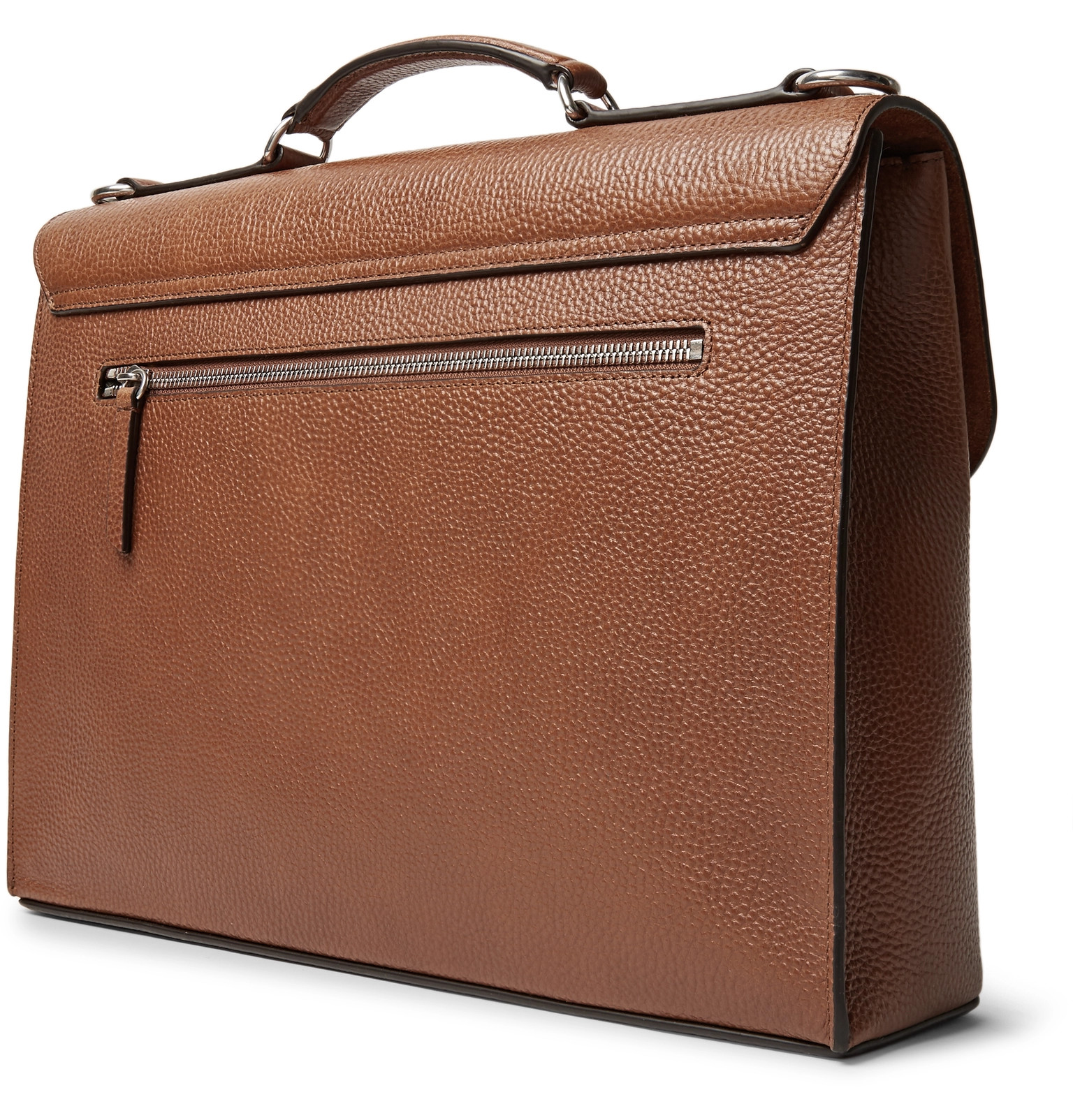 184632142f ... get mulberry chiltern pebble grain leather briefcase 66fa5 2b438