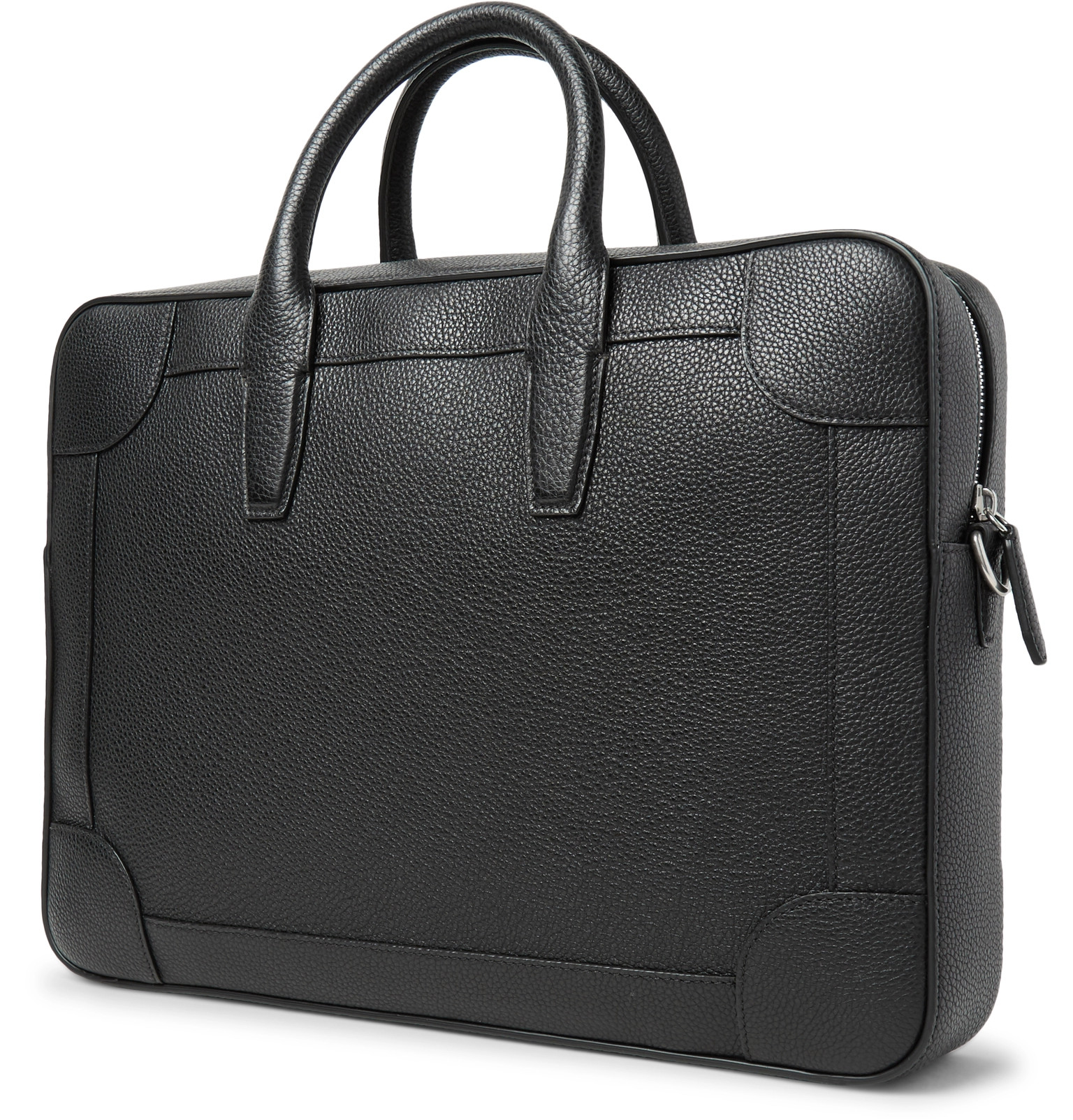 187183b0e5 Mulberry - Belgrave Full-Grain Leather Briefcase