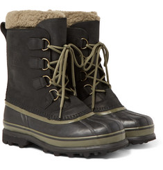 Sorel - Caribou WL Wool-Lined Waterproof Leather Snow Boots