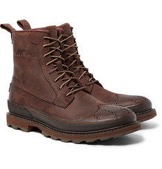 Sorel - Madson Waterproof Leather Wingtip Brogue Boots
