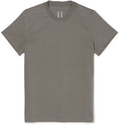 Rick Owens Level Slim-Fit Cotton-Jersey T-Shirt