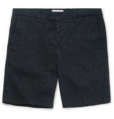 AMI - Slim-Fit Cotton-Twill Chino Shorts