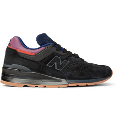 New Balance 997 Suede and Leather Sneakers