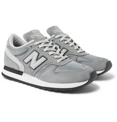 New Balance - 770 Flimby 35th Anniversary Suede, Nubuck and Mesh Sneakers