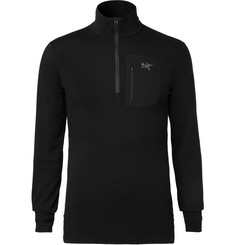 Arc'teryx Satoro AR Wool-Blend Half-Zip Base Layer