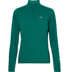 Arc'teryx Cormac Stretch-Jersey Half-Zip Top