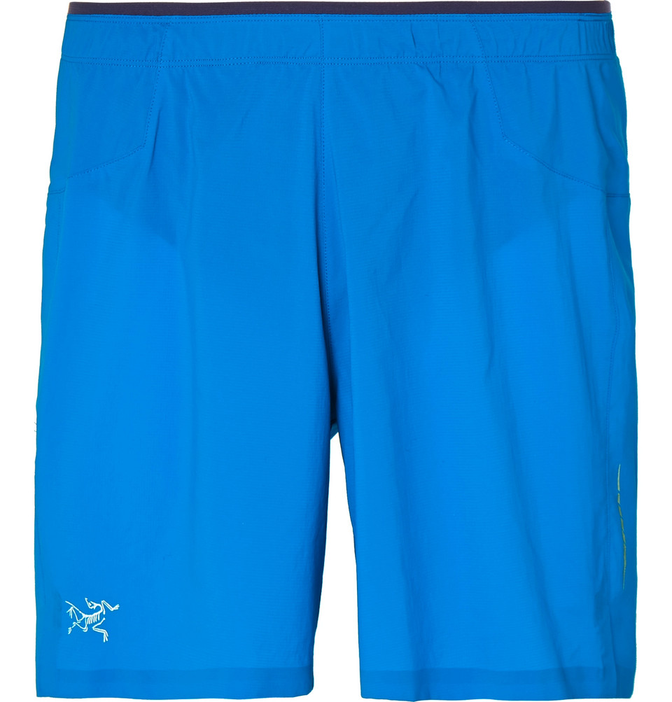 Adan Arkose Shorts - Blue