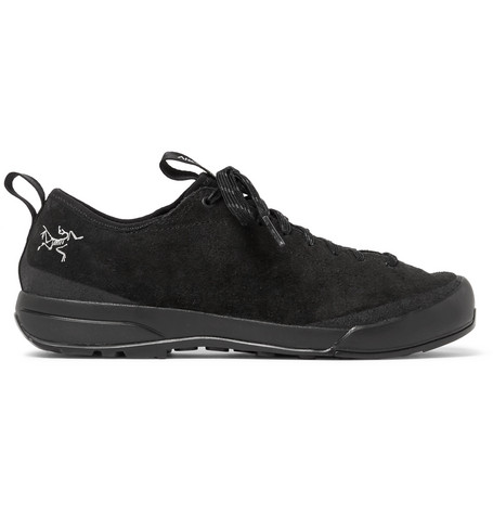 arcteryx male acrux sl suede hiking sneakers