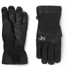 Arc'teryx Sabre Leather-Trimmed GORE-TEX Ski Gloves