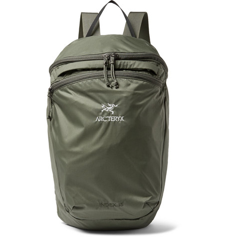 Arc'Teryx Index 15 Nylon-Ripstop Backpack In Green