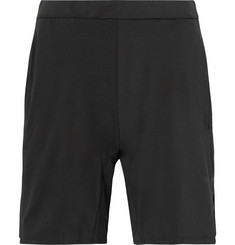 Adidas Sport Barricade Bermuda Mesh-Panelled Climacool Tennis Shorts