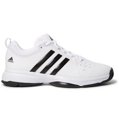 Adidas Sport - Barricade Classic Bounce Coated-Mesh Tennis Sneakers