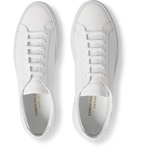 COMMON PROJECTS ORIGINAL ACHILLES LOW WHITE LEATHER MEN'S SNEAKER