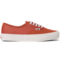 Vans OG Authentic LX Suede and Canvas Sneakers