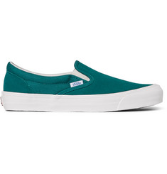 Vans OG LX Suede and Canvas Slip-On Sneakers
