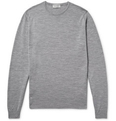 John Smedley - Lundy Slim-Fit Mélange Merino Wool Sweater