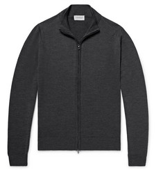 John Smedley - Claygate Merino Wool Zip-Up Cardigan