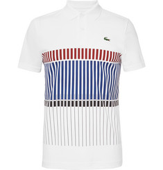Lacoste Tennis - Printed Piqué Polo Shirt